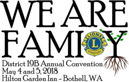 We Are Family 19-B Lions Spring Convention